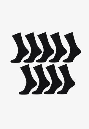 9 PACK - Strømper - antracites