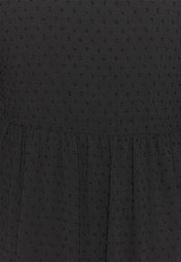 Missguided Plus - DOBBY SPOT SMOCK DRESS - Robe chemise - black - 2