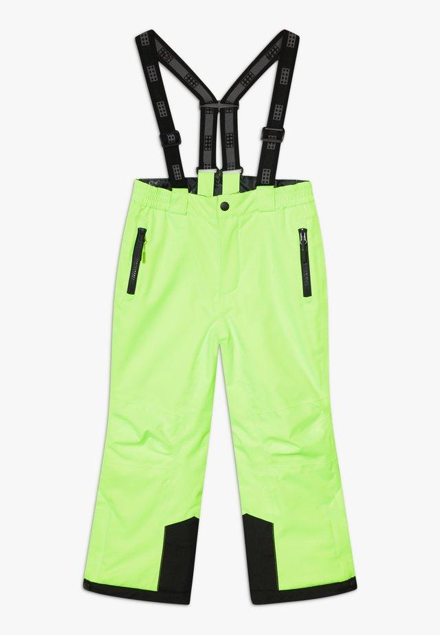 Ski- & snowboardbukser - light green
