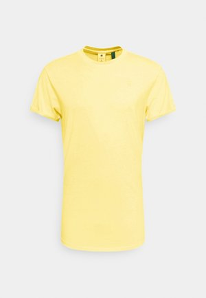LASH  - T-shirt basic - dark bleach yellow