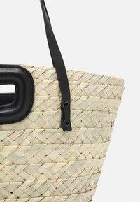 maje - BASKET - Handbag - noir - 4