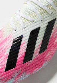 adidas Performance - X 19.1 FG - Kopačky lisovky - footwear white/core black/shock pink - 5