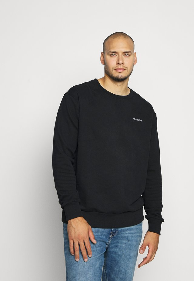 LOGO EMBROIDERY - Sweatshirt - black