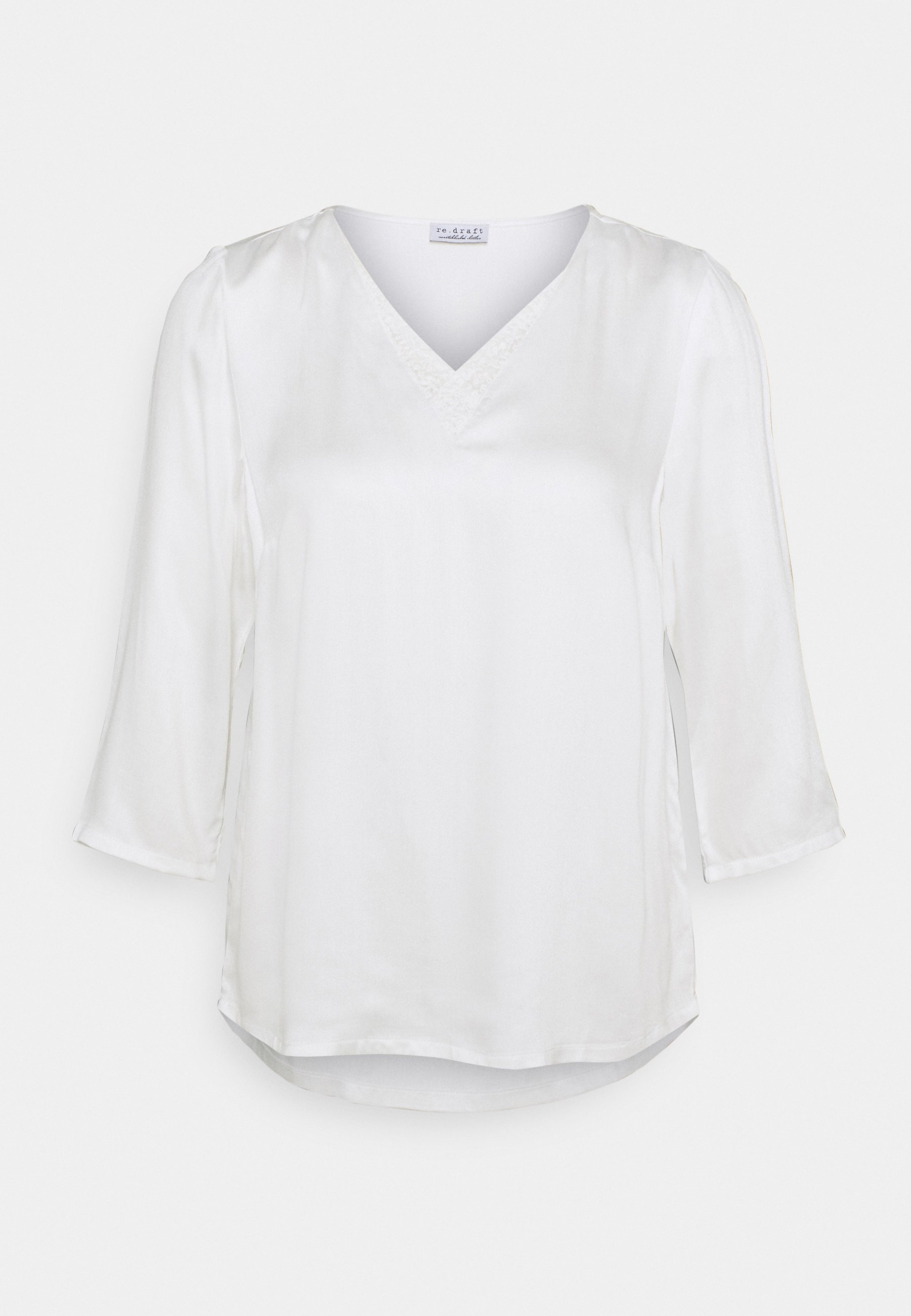 Women BLOUSE WITH DETAIL - Long sleeved top
