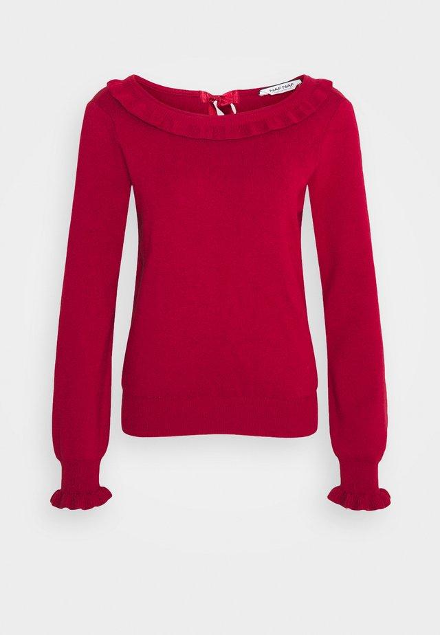 MFANCY - Sweter - rouge dorient