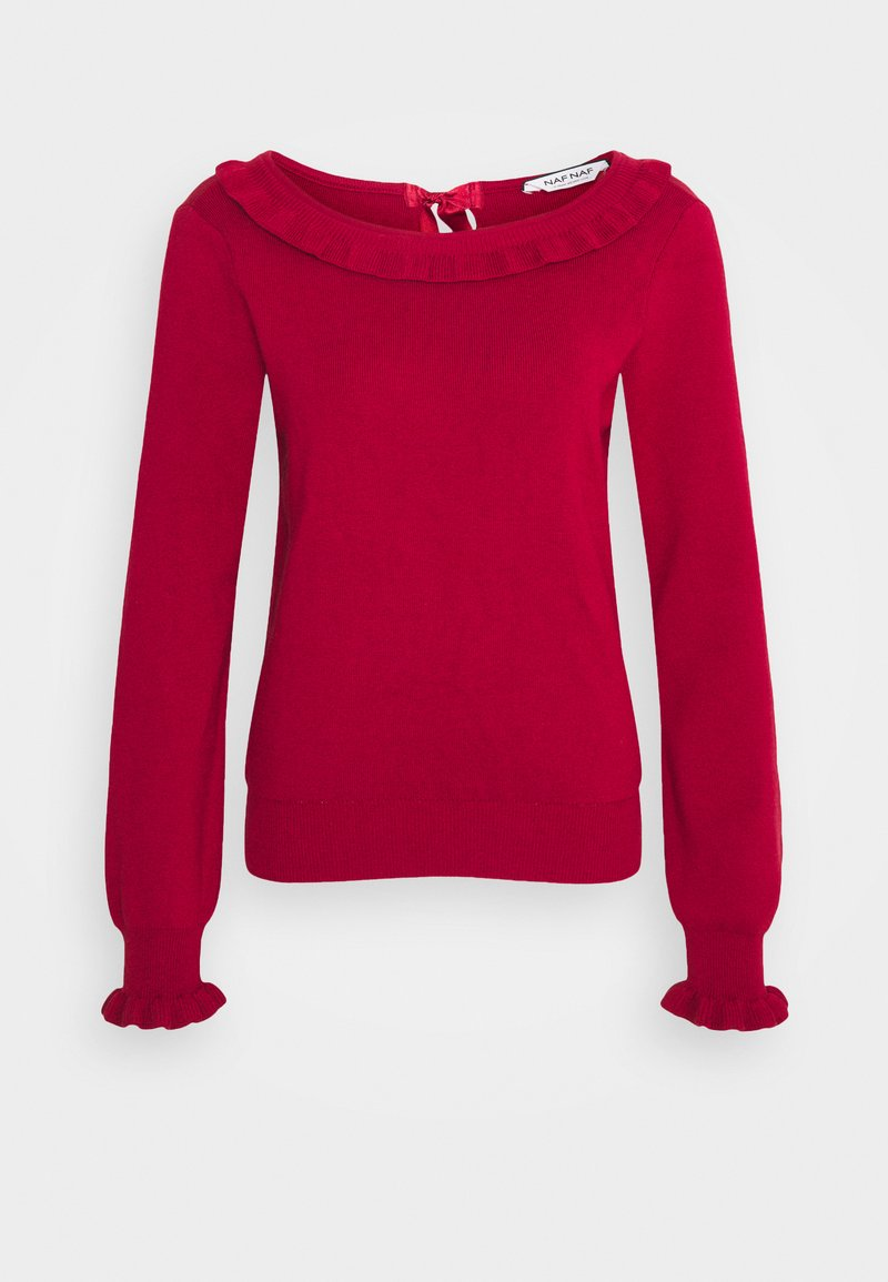 NAF NAF - MFANCY - Jumper - rouge dorient