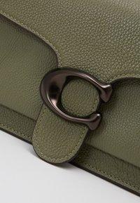 Coach - TABBY POLISHED SMALL FLAP BAG HANDBAG - Handbag - light fern - 4