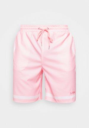CONTRAST STRIPE - Short - pink