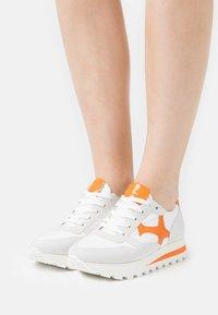 Peter Kaiser - FELIPA - Sneakers laag - weiß/landa papaya bardy - 0