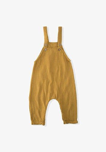 Dungarees - mustard yellow