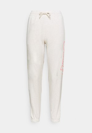 EASY - Pantaloni sportivi - oatmeal heather