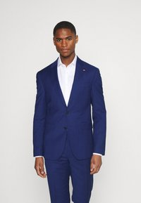 Tommy Hilfiger Tailored - FLEX STRIPE SLIM FIT SUIT SET - Oblek - blue - 2