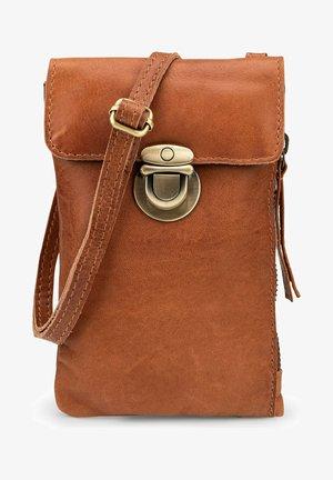 HANDYTASCHE BUCKLE - Across body bag - brown
