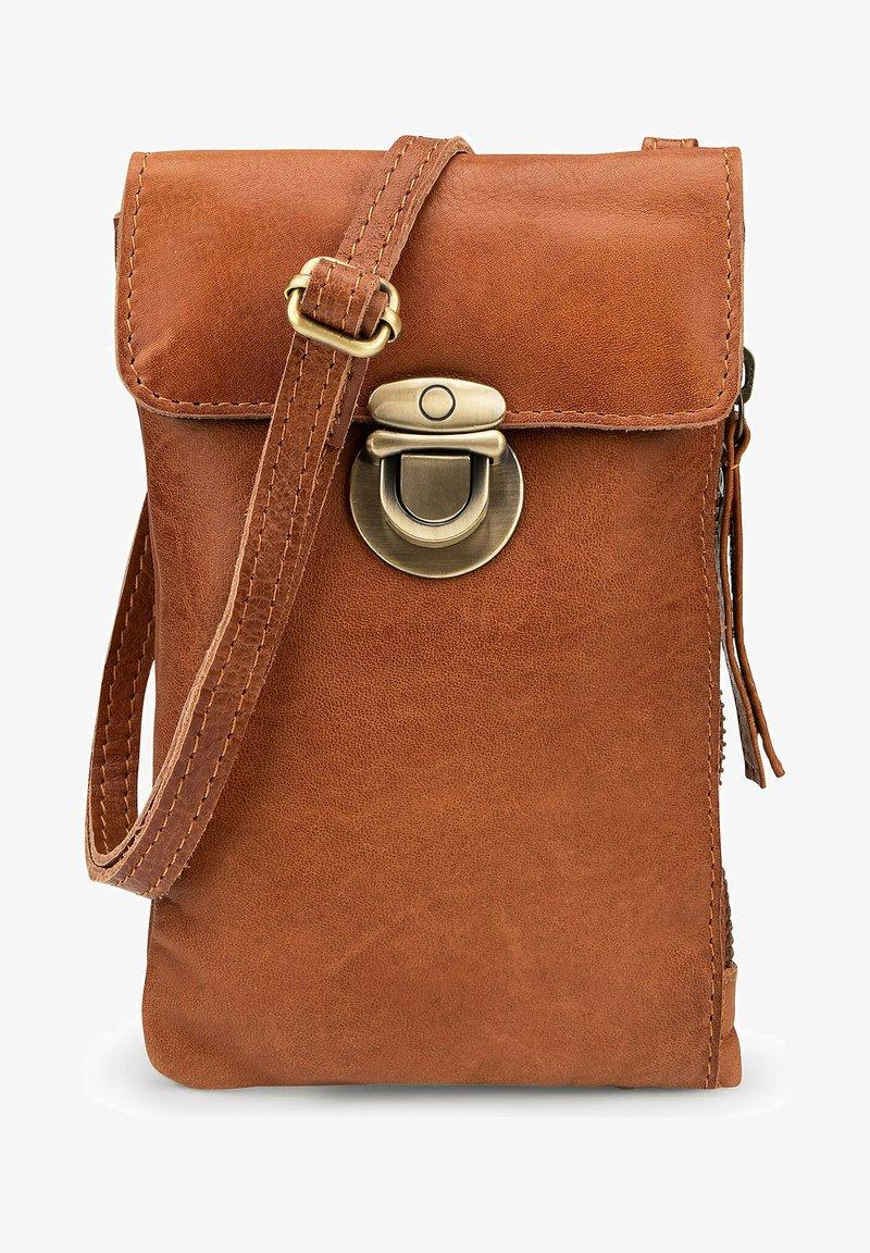 COX - HANDYTASCHE BUCKLE - Across body bag - brown