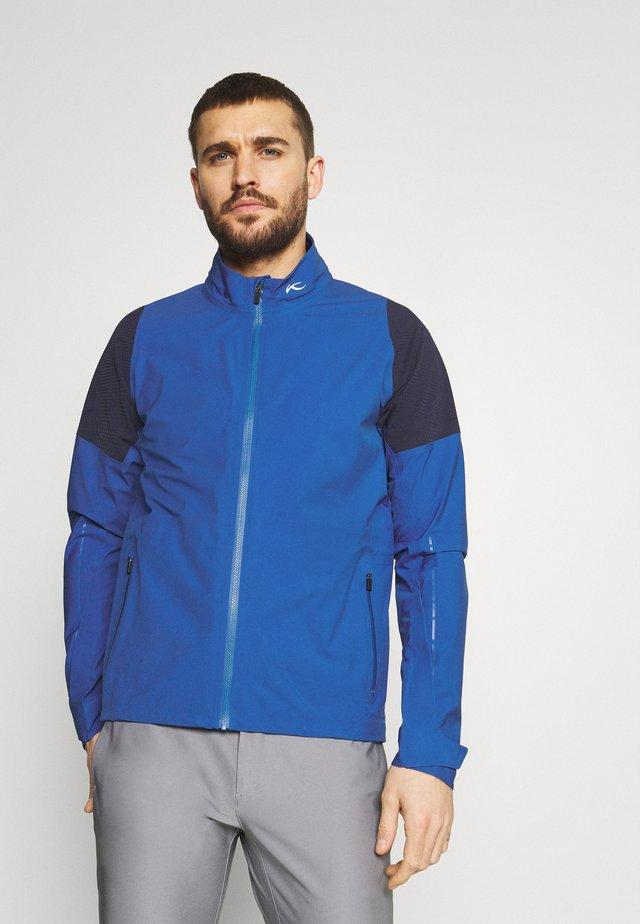 MEN PRO 2.0 JACKET - Hardshelljacka - midnigh blue/atlanta blue