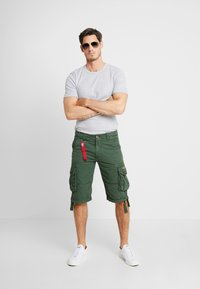 Alpha Industries - JET - Cargo trousers - dark petrol - 1