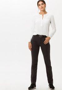 BRAX - STYLE CAROLA - Trousers - grey - 1