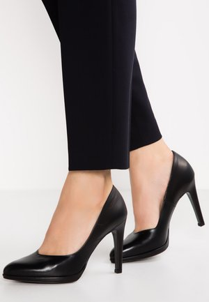 HERDI - Zapatos altos - black
