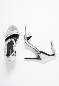 River Island - High heeled sandals - silver - 3