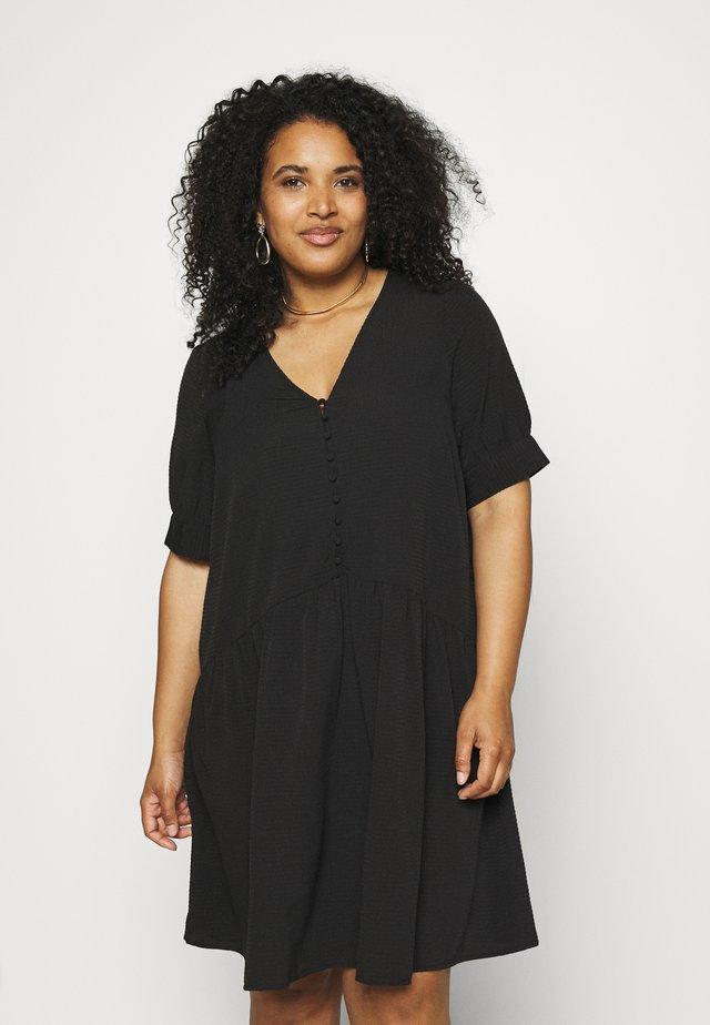 PCGENEVA DRESS CURVE - Vestido informal - black