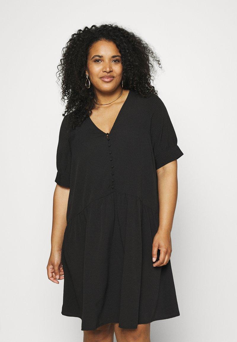 Pieces Curve - PCGENEVA DRESS CURVE - Day dress - black