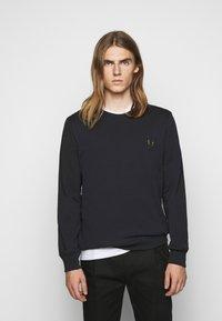 PS Paul Smith - ZEBRA CREW NECK - Sweatshirt - dark blue - 0
