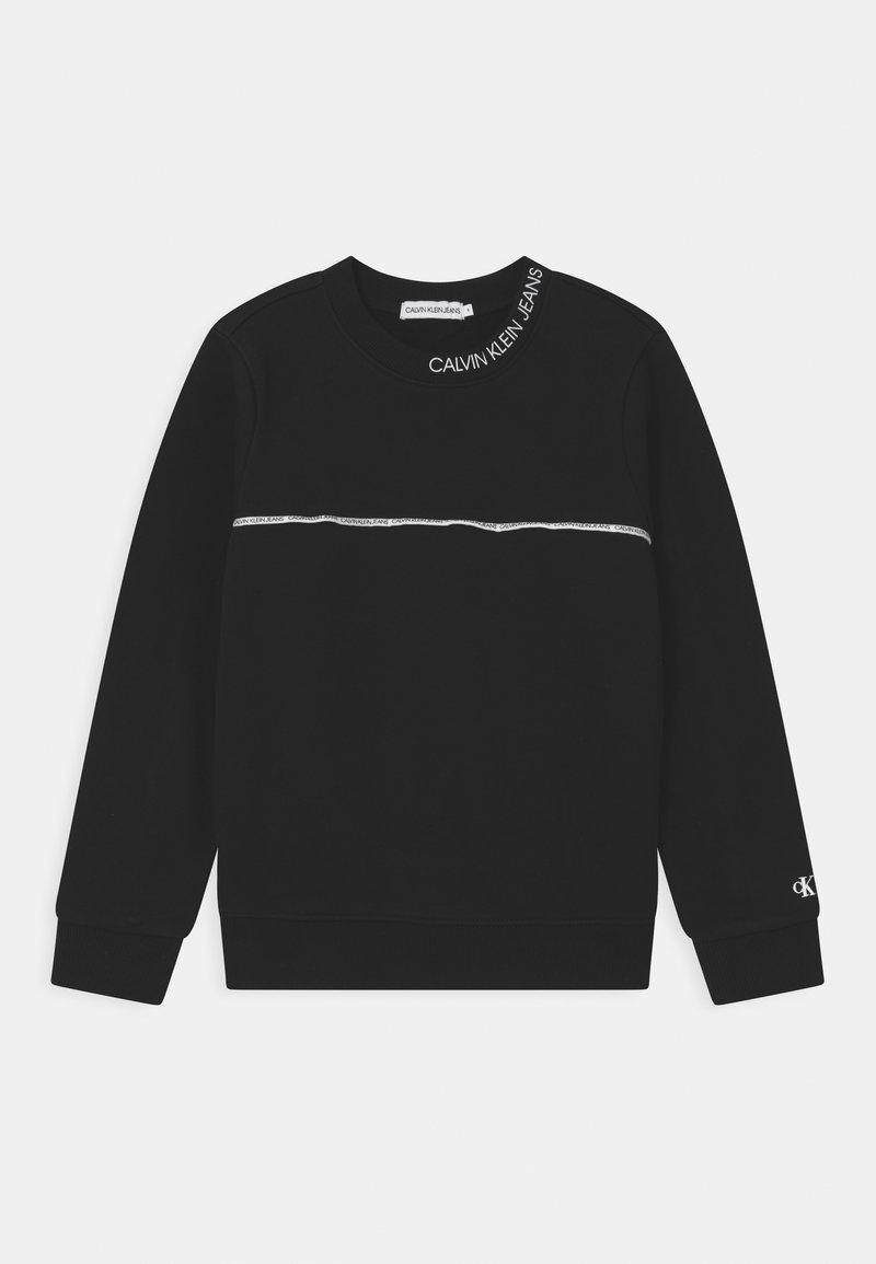 Calvin Klein Jeans - LOGO PIPING  - Felpa - black