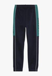 Lacoste Sport - Träningsbyxor - navy blue/ivy white - 1