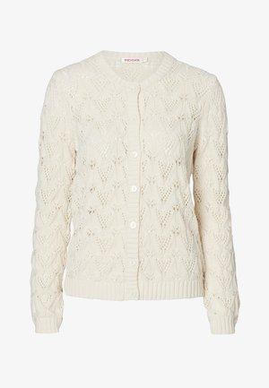 MAGDA - Cardigan - white