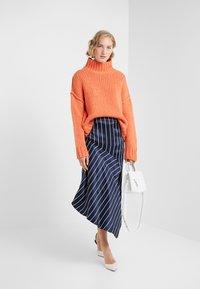 HUGO - STELLY - Stickad tröja - bright orange - 1