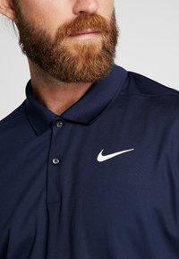 Nike Golf - VICTORY - Tekninen urheilupaita - obsidian/white - 5
