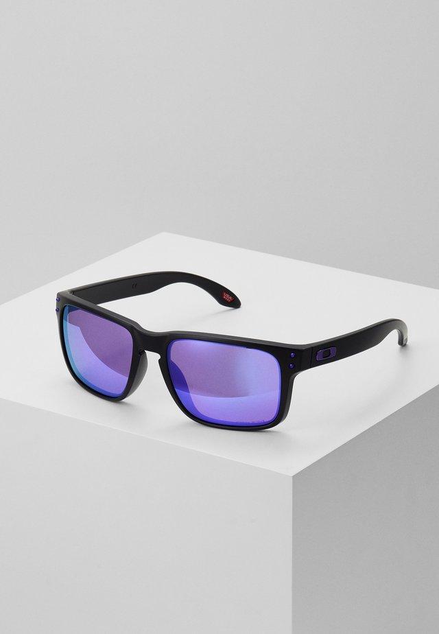 HOLBROOK - Solglasögon - matte black/prizm violet