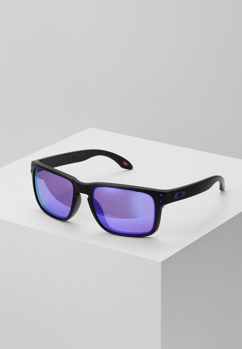 Oakley - HOLBROOK - Sonnenbrille - matte black/prizm violet