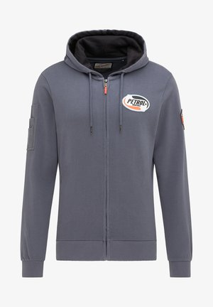 Zip-up hoodie - wolf grey