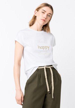 MOTTO - T-shirt imprimé - weiß