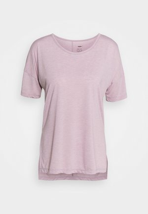 LAYER - Basic T-shirt - plum fog/venice