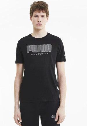 ATHLETICS  - Print T-shirt - black