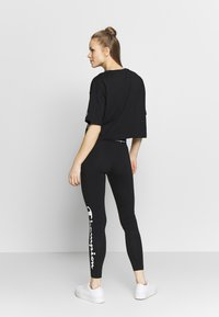 Champion - LEGGINGS - Trikoot - black - 2