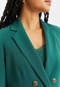WE Fashion - Halflange jas - green - 4