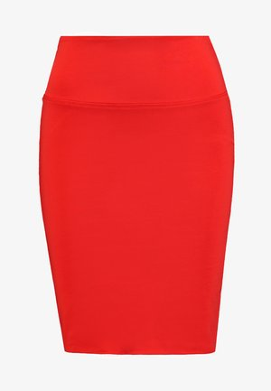 PENNY SKIRT - Pencil skirt - poppy red