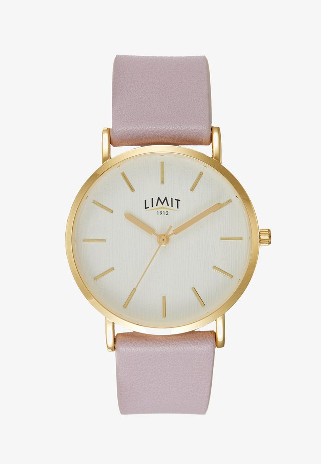 LADIES STRAP WATCH TEXTURED DIAL - Watch - rose