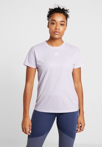 adidas Performance - TEE - T-shirt basic - purple - 0