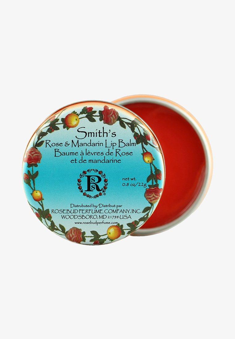 Smith's Rosebud - SMITH'S ROSE & MANDARIN LIP BALM - Lippenbalsem - -