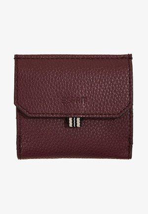 Wallet - bordeaux red