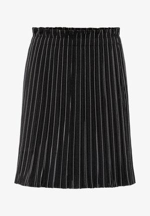 Pleated skirt - schwarz