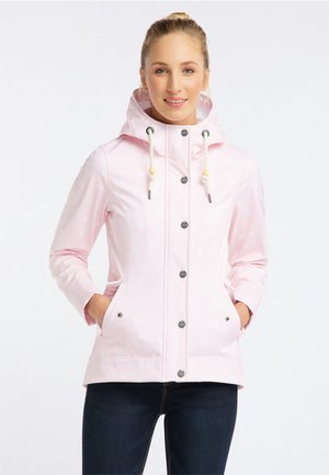 Outdoor jacket - pink dots