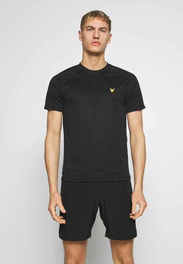 CORE RAGLAN - T-shirt - bas - true black