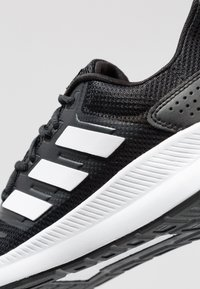 adidas Performance - RUNFALCON - Zapatillas de running neutras - core black/footwear white - 5