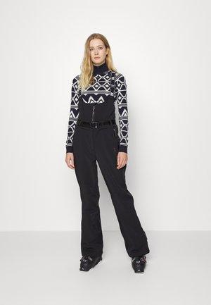 ASTRO SKI SALOPETTES - Snow pants - black