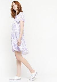 LolaLiza - GRAPHIC PRINT - Day dress - purple - 4